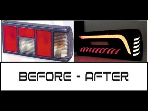Tofaş Led Stop Yapımı #2 | How To Make Led Backlight ?