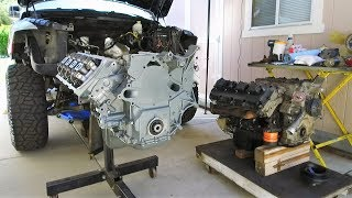 """Download HEMI Swap with Jasper Engines Replacement 5.7 in a Dodge Ram 1500 on 37"""" Tires Mp3 and Videos"""