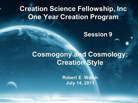 Cosmogony and Cosmology: Creation Style