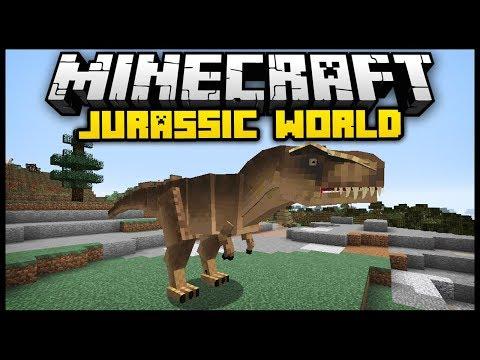 Download Minecraft Jurassic Craft World Mod Mod Showcase MP3