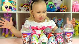 Сюрпризы Фиксики Принцессы Диснея Энгри Бердс распаковка Surprises Disney Princess Angry Birds