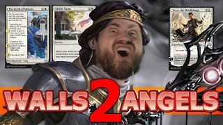 Theros enabled this WEIRD deck! Walls Elspeth Vistiation Standard MTG Arena