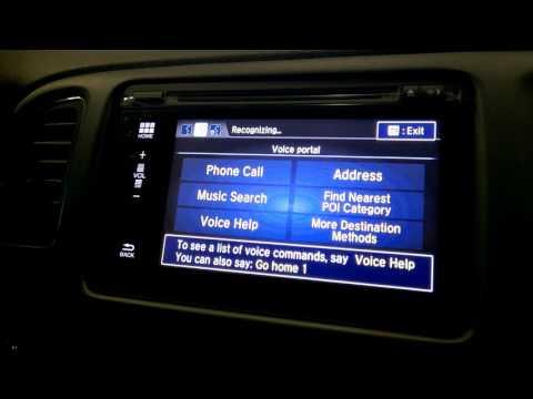 Navigation in the 2016 Honda HR-V