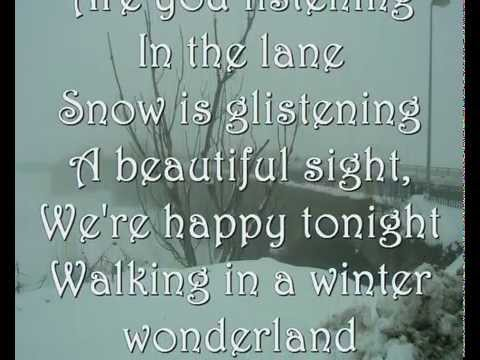 winter wonderland christmas carols marceg cover lyrics youtube