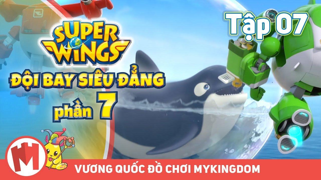 ĐỘI BAY SIÊU ĐẲNG – Phần 7 | Tập 07: Bong Bóng Không Vỡ – Phim hoạt hình SuperWings