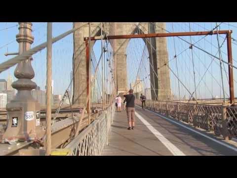 A Walk Across the Brooklyn Bridge on Wednesday August 21, 2013.