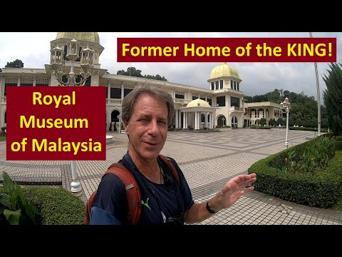 Can You Elect a KING? In Malaysia, YES you can! (A Visit to the Royal Museum in Kuala Lumpur)