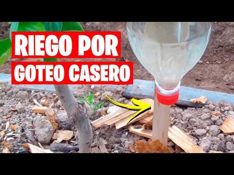 Riego por Goteo Casero 💧 Muy Fácil | La Huerta de Ivan