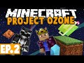 Minecraft Project Ozone [Modded HQM Skyblock]