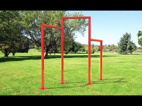 Como hacer una barra casera para entrenar ejercicios para fuerza en barras youtube - Barras de ejercicio para casa ...