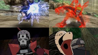 Naruto Shippuden Clash of Ninja Revolution 3 - All Ultimate Jutsu Ougi 1080p 60 FPS