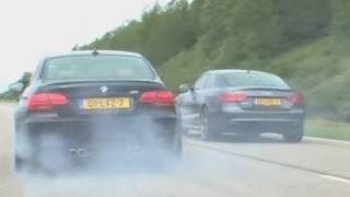 Mercedes C63 vs BMW M3 vs Audi RS5!