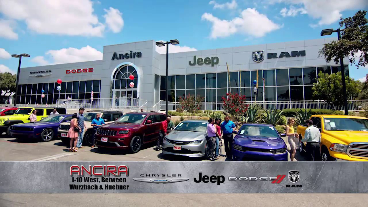 Nice Low Prices! Huge Selection! Great Service! Only At Ancira Chrysler Jeep  Dodge Ram