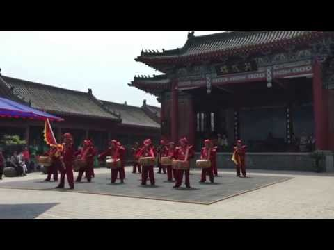 Song Dynasty's drummers in Kaifeng, China