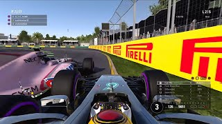 Dirty driver brake tests me?! F1 2017