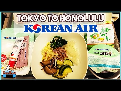 Korean Air Flight Review (Narita to Honolulu)