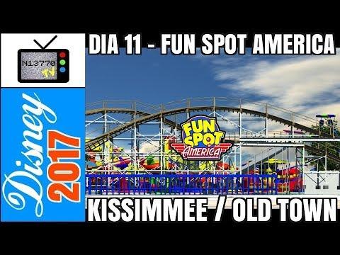 11º DIA – FUN SPOT AMERICA KISSIMMEE / OLD TOWN (DISNEY / ORLANDO / FLÓRIDA) - 18.10.17 - N13770 TV