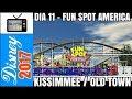 DIA 11 – FUN SPOT AMERICA KISSIMMEE / OLD TOWN (DISNEY / ORLANDO / FLÓRIDA) - 18.10.17 - N13770 TV