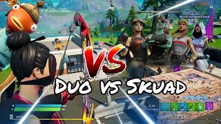 duo vs squad / fortnite