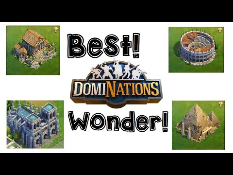 DomiNations Android/iOS Game Wonders Guide: The Best Wonders Bronze, Classical, Gunpowder Age!