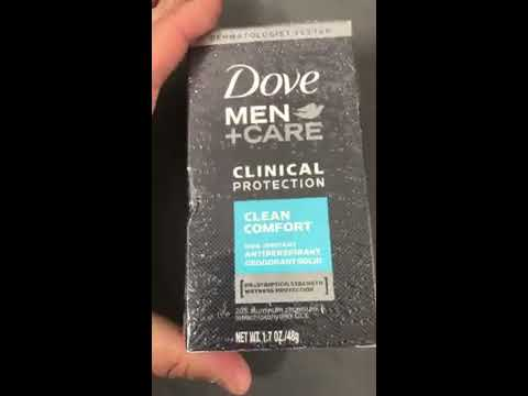 B01IADW09M Dove Men + Care Clinical Protection Antiperspirant Deodorant Solid Clean Comfort 1.70 oz