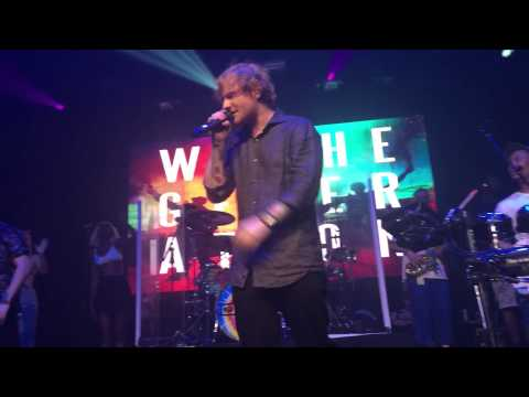 Rudimental with Ed Sheeran Bloodstream Webster Hall NYC 9/29/15