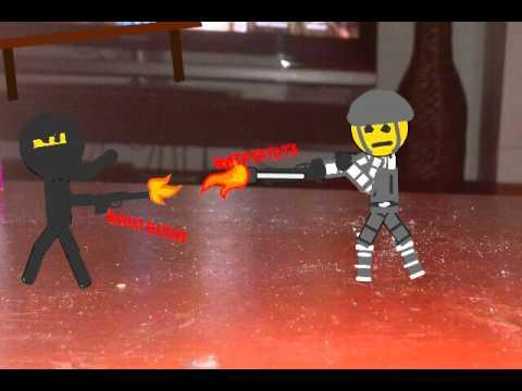 Ninja vs soldier