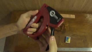 степлер механический под скобу 11,3x0,70x6-14 в работе