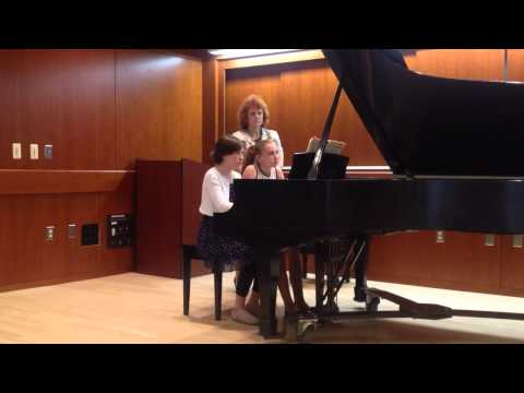 """Valencia"" - MSMTA State Piano Duet"