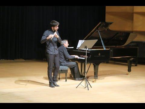 ARVO PÄRT · SPIEGEL IM SPIEGEL, for alto flute and piano