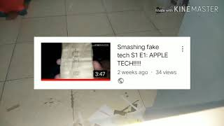 Smashing fake tech S1 E2: an old iPad!? (READ DESC.)