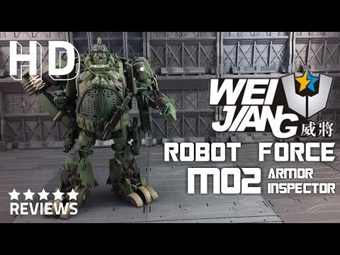 Wei Jiang Robot Force M02 Armor Inspector Transformers Age of Extinction Hound