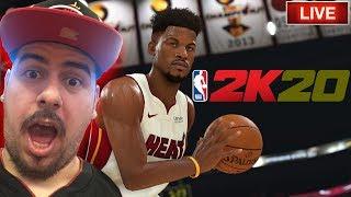 NBA 2k20 midnight DEBUT STREAM - MyTeam + MyPlayer!!!
