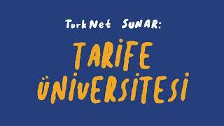 Kafa Karışıklığı Yaratmayan Tarifeler İçin TurkNet'e Bekleriz