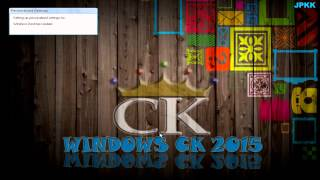 Windows XP 2015 CK Edition