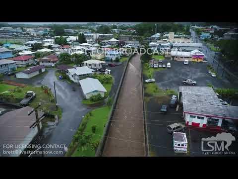 08-24-18 Hurricane Lane hits Hilo causing flooding in Bayfront area