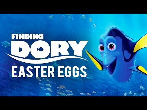 Movie Easter Eggs  Finding Dory  Ep.16