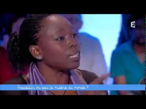 """Fatou Diomé about the """"migrant crisis"""" in Europe 24.04.2015 English subtitles"""