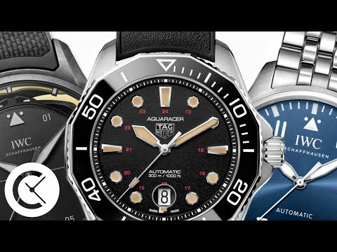 Watches & Wonders 2021 #3: Best Sport Watches from IWC, TAG Heuer, Oris and More