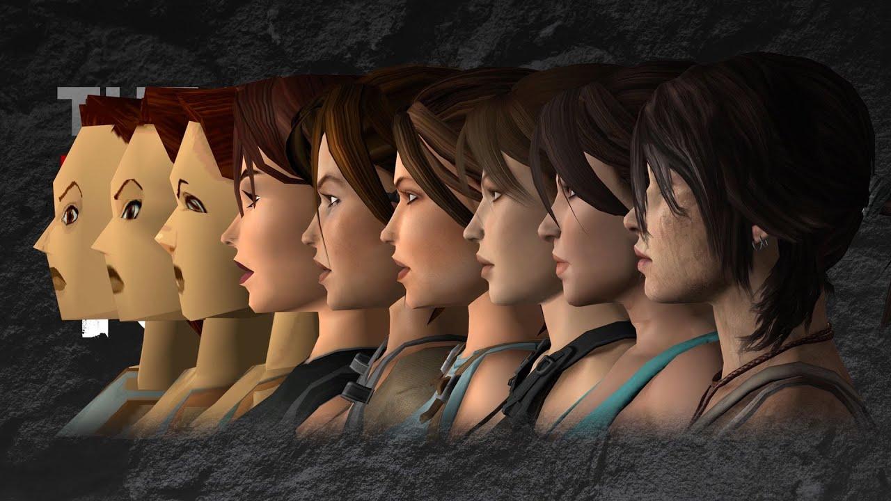 The Many Faces Of Lara Croft Tomb Raider Infographic Halloweencostumes Com Blog