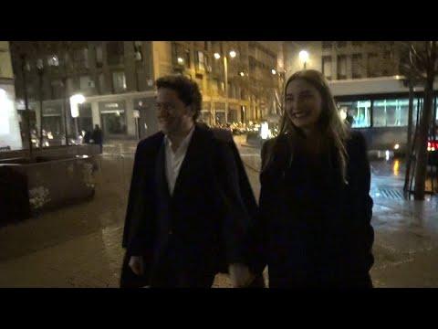 María Valverde y Gustavo Dudamel, acaramelados en Madrid
