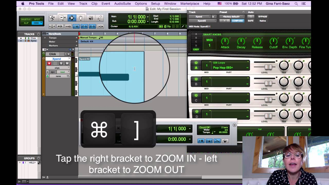 Pro Tools in PJs - Add a Loop using Xpand