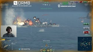 World of Warships - Ranked Battle with Colorado - Zoup v. Mejash