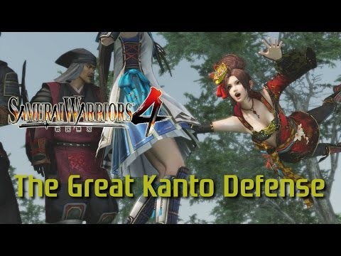 Samurai Warriors 4 [PS4] | Legend of Kanto | The Great Kanto Defense
