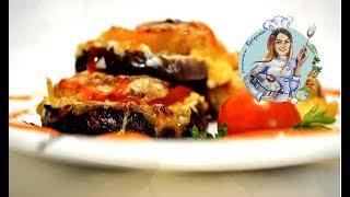 БАКЛАЖАНЫ С ПОМИДОРАМИ И СЫРОМ В ДУХОВКЕ! Очень просто и вкусно! Отличная горячая закуска.