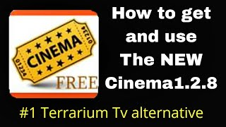 How to get the New Cinema HD 1.2.8(Terrarium Tv alternative)