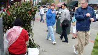 Scary Black Man in Downtown San Francisco Part 1