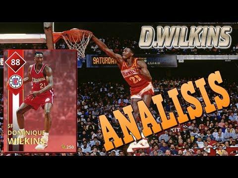 DOMINIQUE WILKINS, ANÁLISIS | NBA2K18