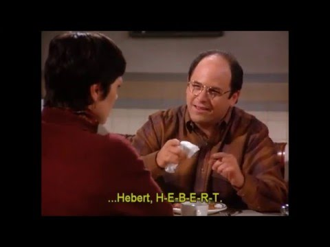 How to pronounce HEBERT