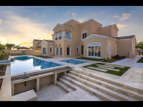 Prominent modern polo homes villa in dubai united arab for Modern house uae